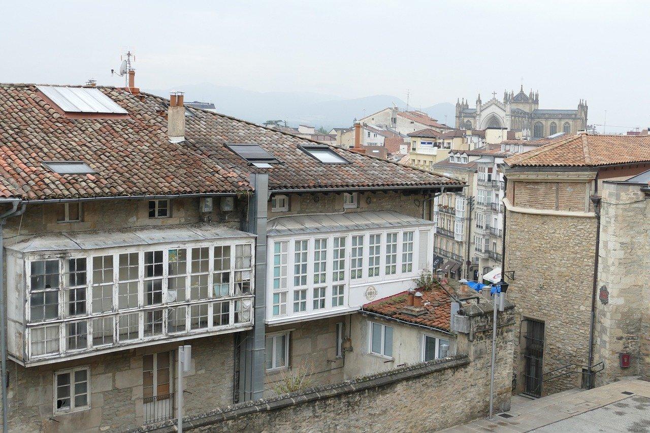 ciudad, paisaje urbano, arquitectura
