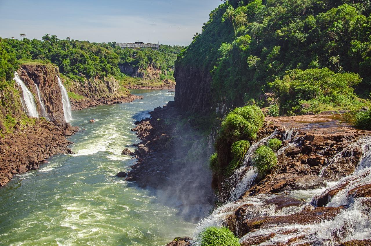 waterfall, iguazú, naturaleza