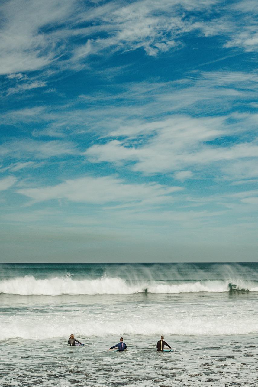 surf, playa, las canteras