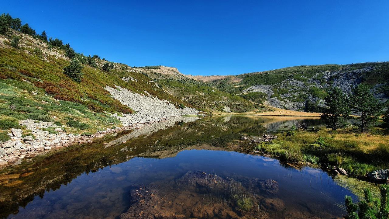 lago, montañas, naturaleza