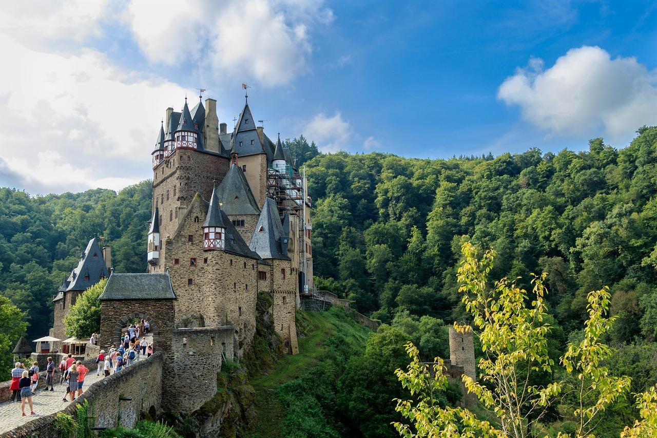 castillo, burg eltz, edad media