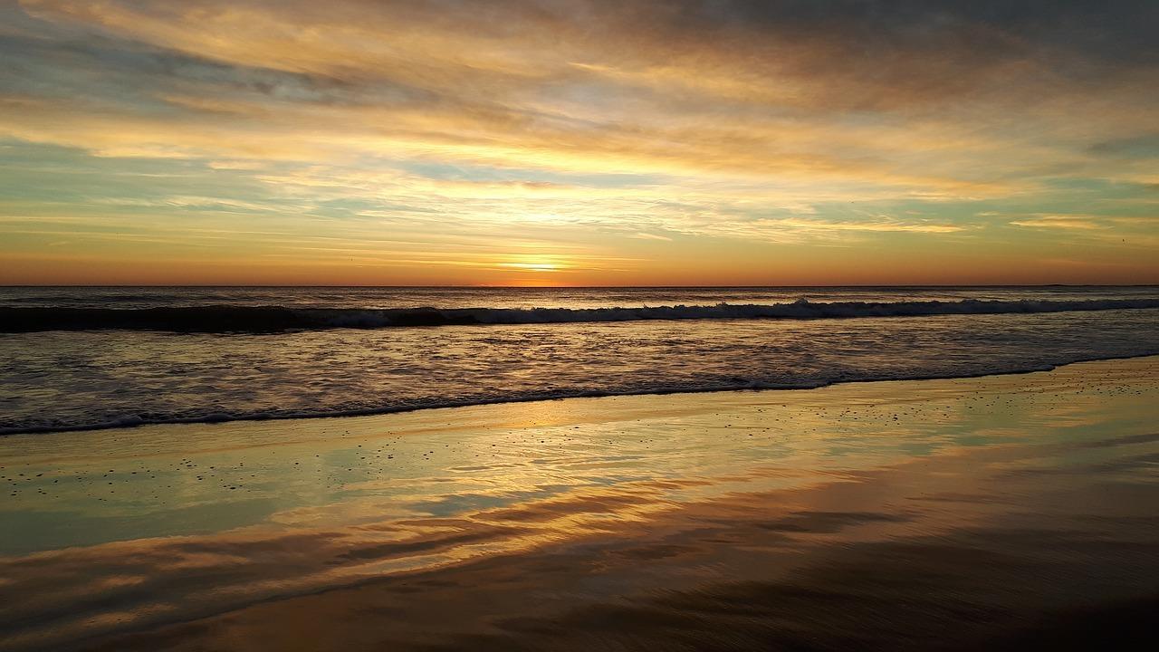 mar, horizonte, océano